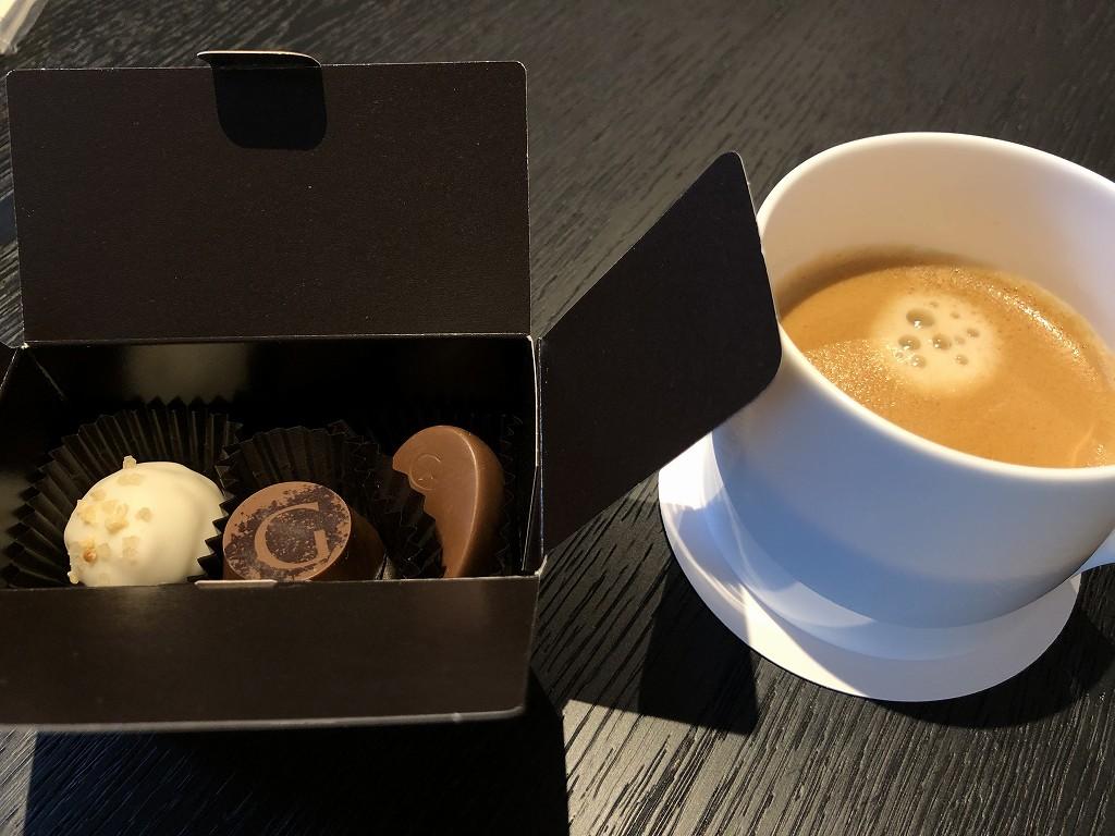ホテルニューオータニのゴディバのチョコレート