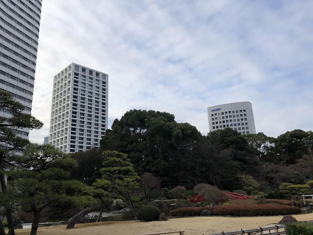 ホテルニューオータニの日本庭園を散策する(朝)1