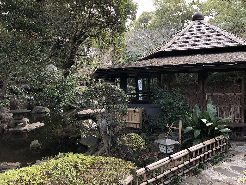 ホテルニューオータニの日本庭園を散策する(朝)2