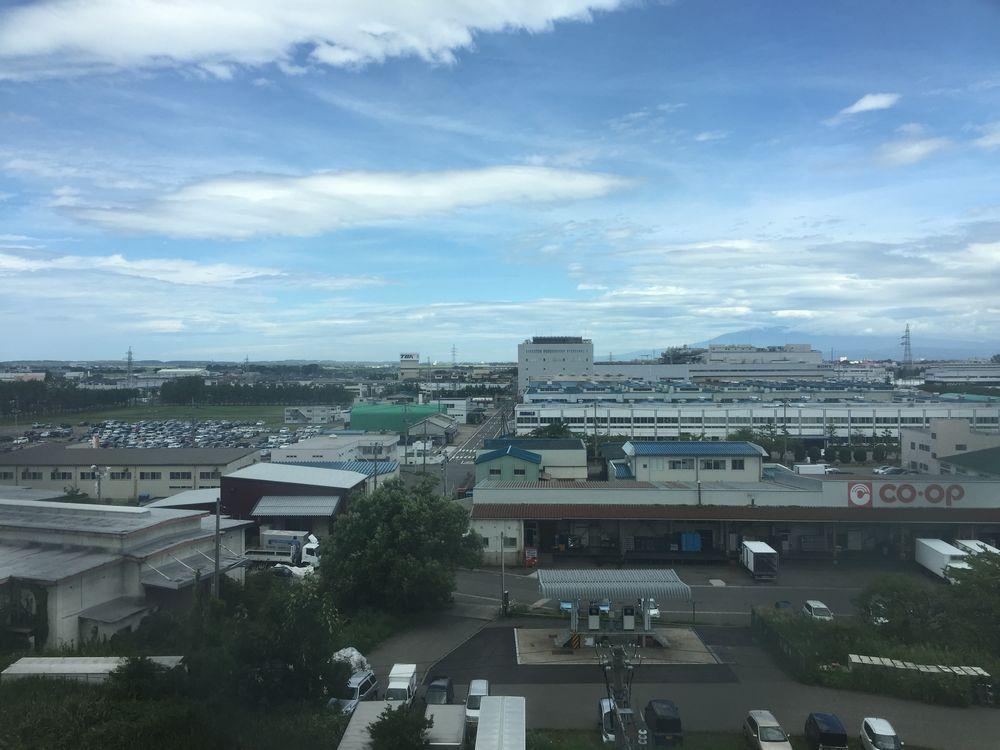 鶴岡駅北口の工場群