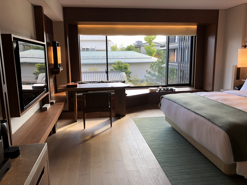 HOTEL THE MITSUI KYOTOのプレミアガーデンビュールームの内観1