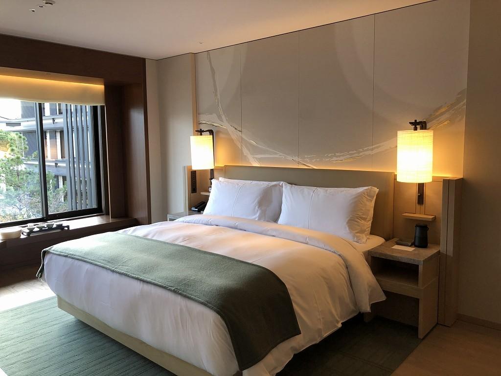 HOTEL THE MITSUI KYOTOのプレミアガーデンビュールームの内観2