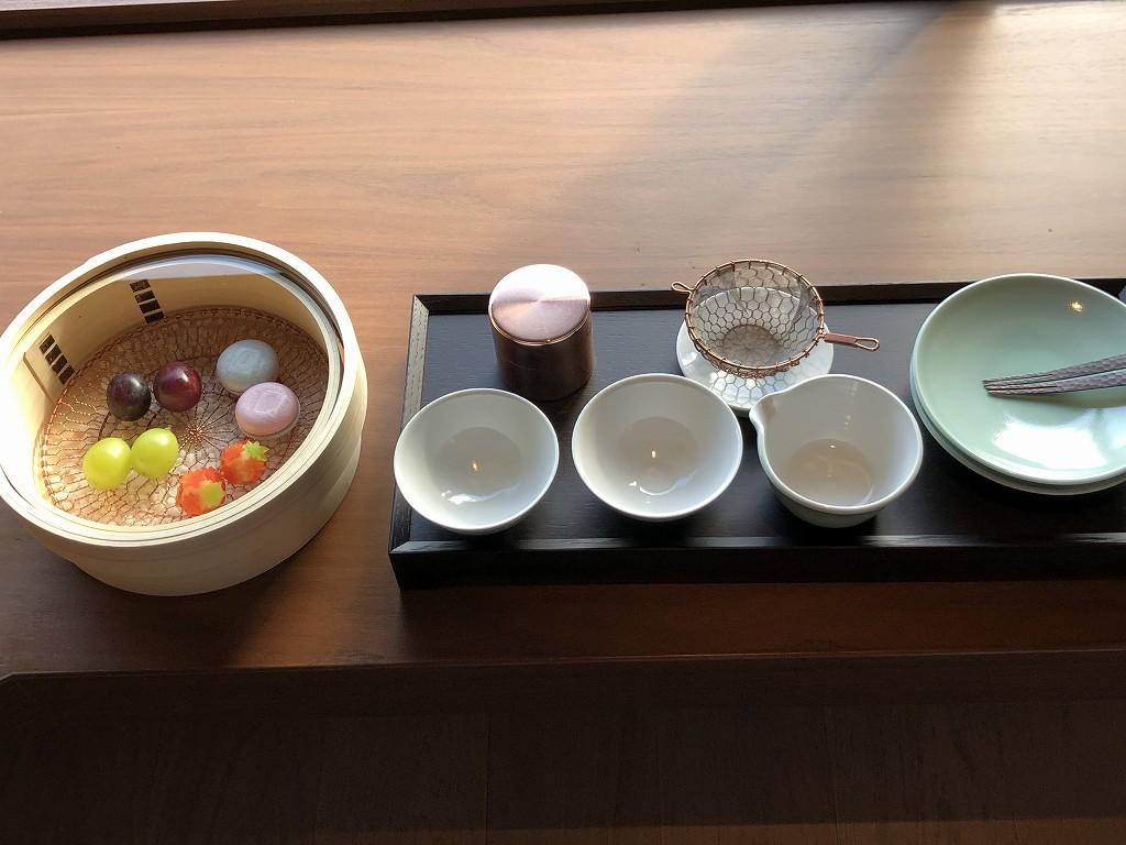 HOTEL THE MITSUI KYOTOのウェルカムフルーツ1