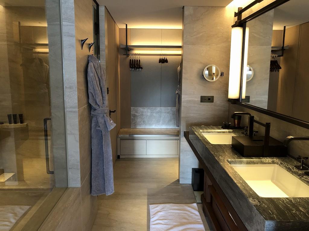 HOTEL THE MITSUI KYOTOのプレミアガーデンビュールームの水回り