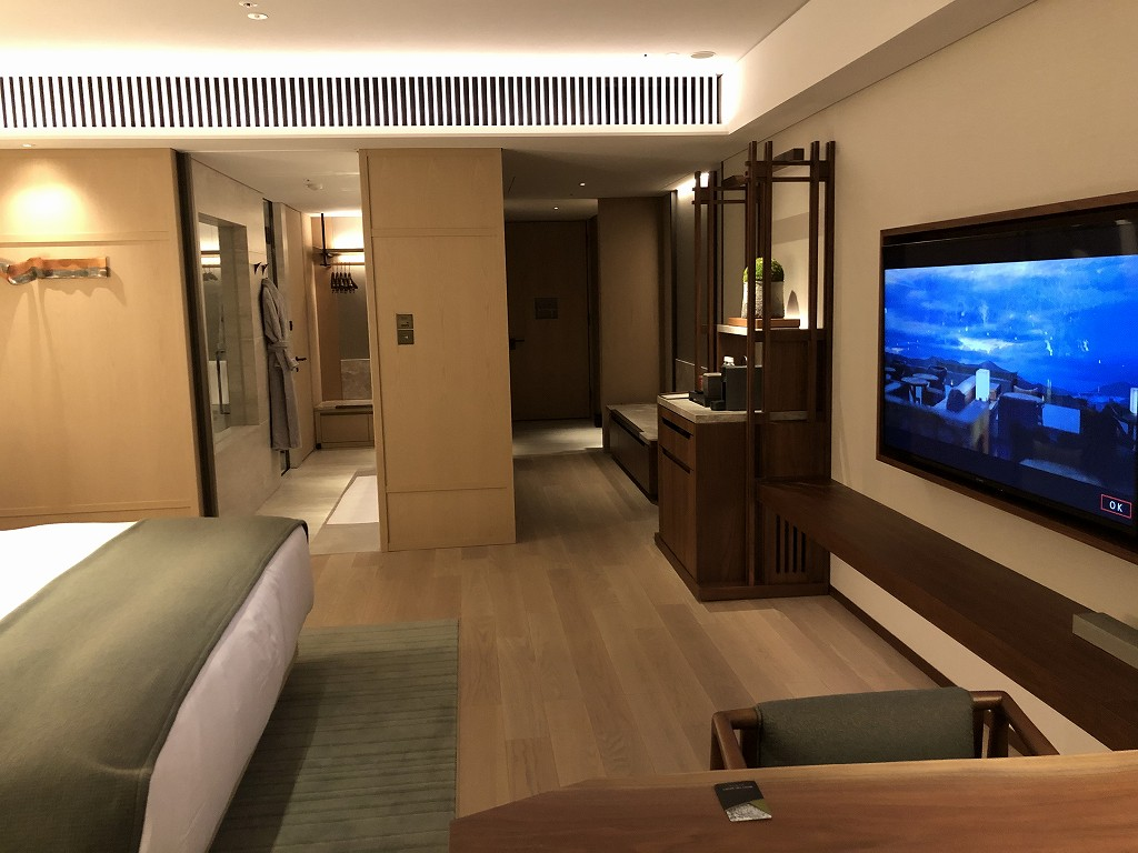 HOTEL THE MITSUI KYOTOのプレミアガーデンビュールームの内観5