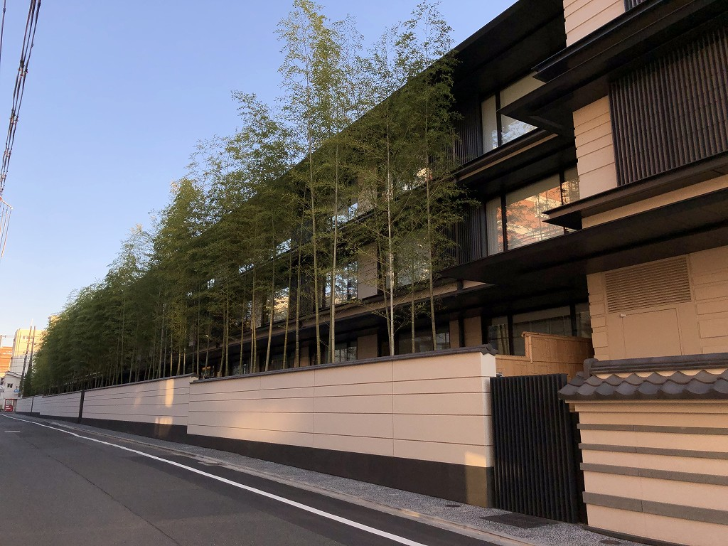 HOTEL THE MITSUI KYOTOは福井藩邸跡