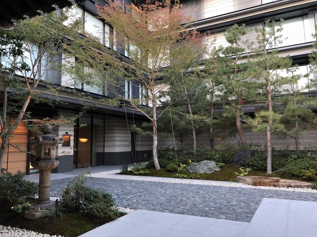 HOTEL THE MITSUI KYOTOの入口1