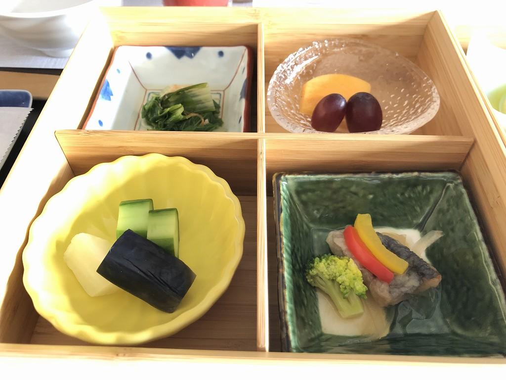 HOTEL THE MITSUI KYOTOのインルームダイニングで朝食(和食)3
