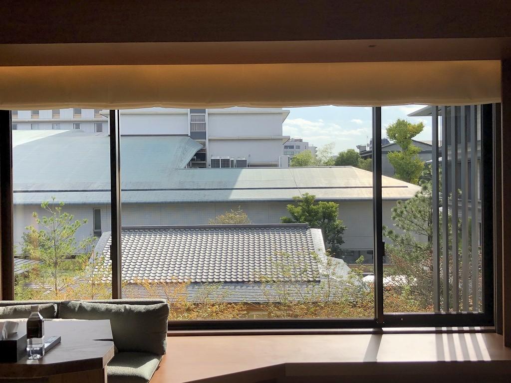 HOTEL THE MITSUI KYOTOのプレミアガーデンビュールームからの眺め2