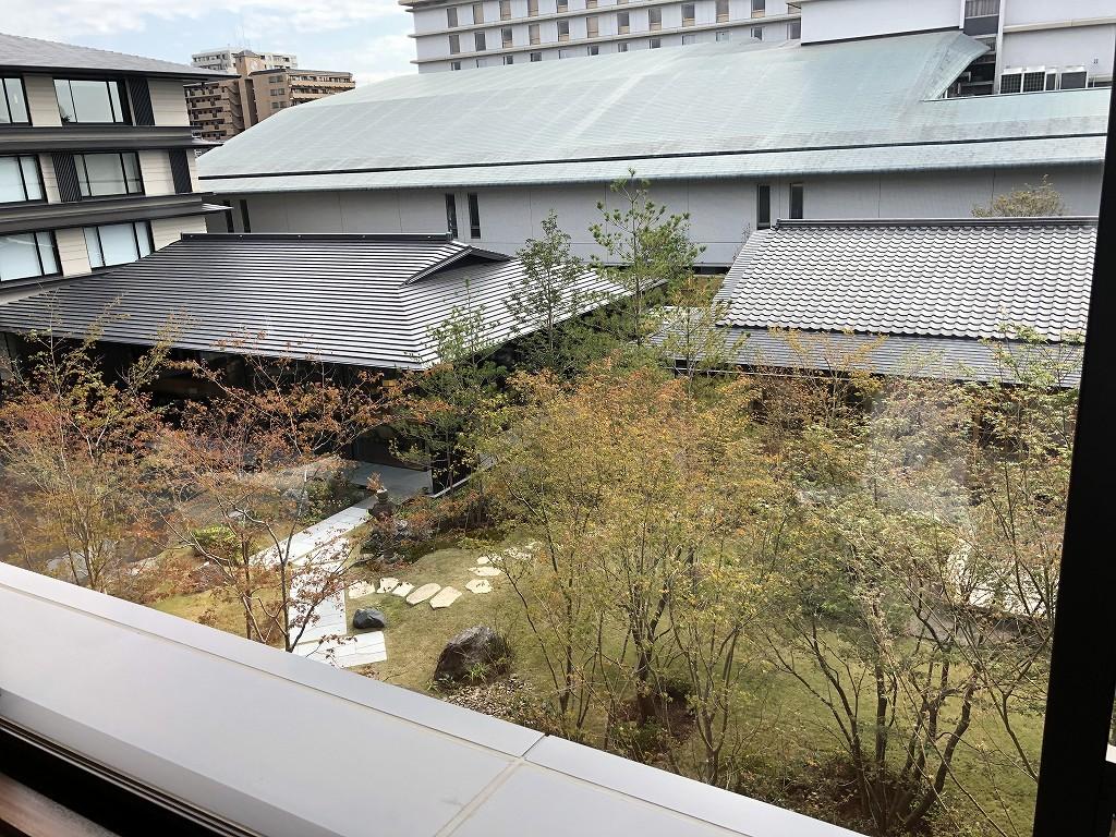 HOTEL THE MITSUI KYOTOのプレミアガーデンビュールームからの眺め1