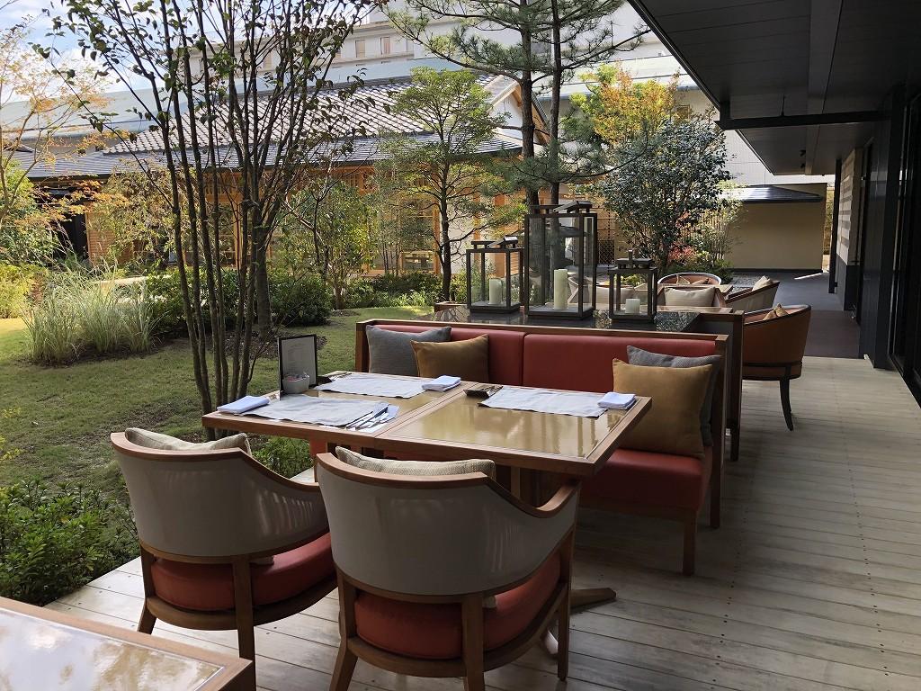 HOTEL THE MITSUI KYOTOの中庭(晴天)5