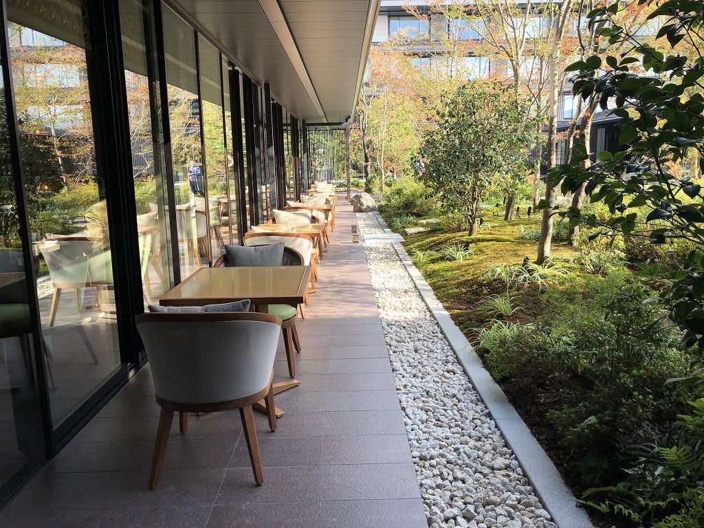 HOTEL THE MITSUI KYOTOの中庭(晴天)6