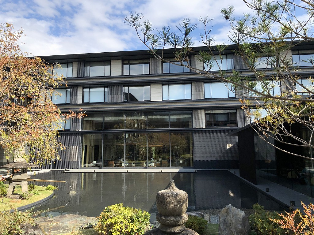 HOTEL THE MITSUI KYOTOの中庭(晴天)7