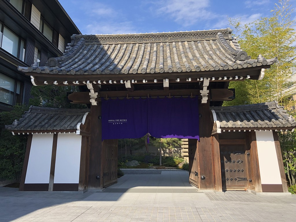HOTEL THE MITSUI KYOTOの梶井宮門