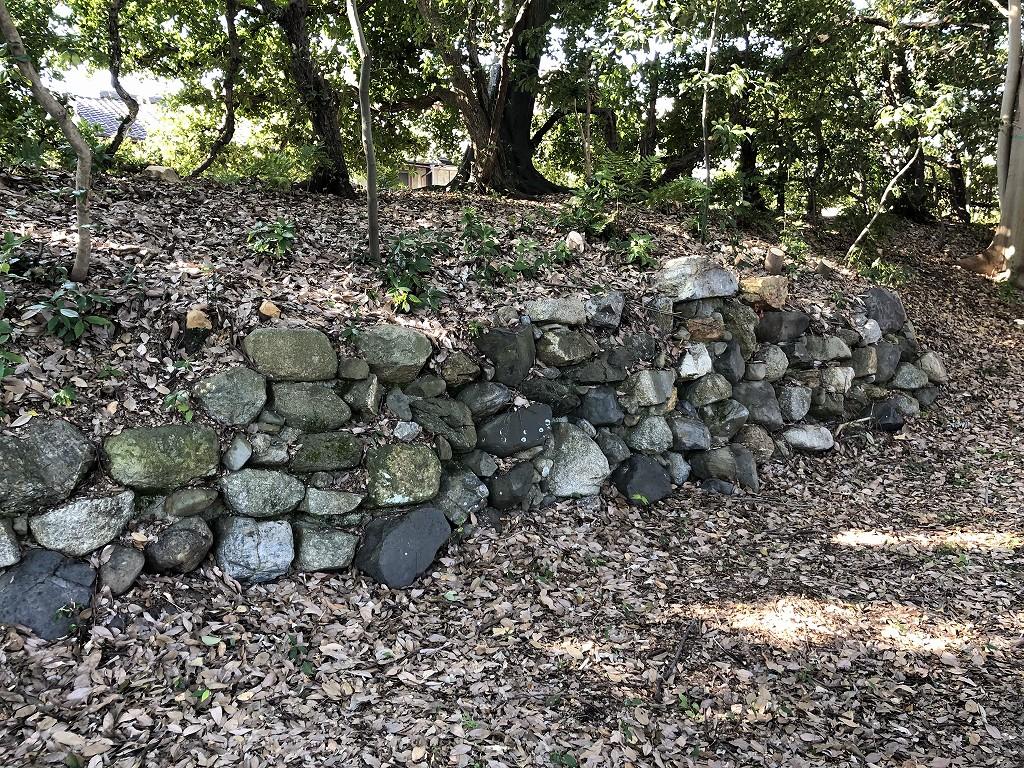 旧二条城の復元石垣2
