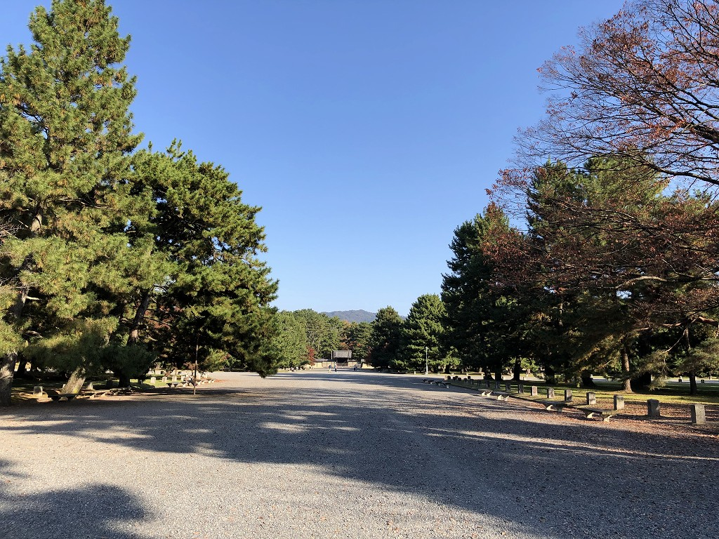 京都御苑の非・密な空間2