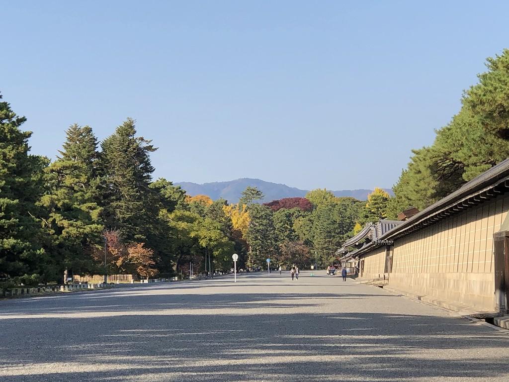 京都御苑の非・密な空間4