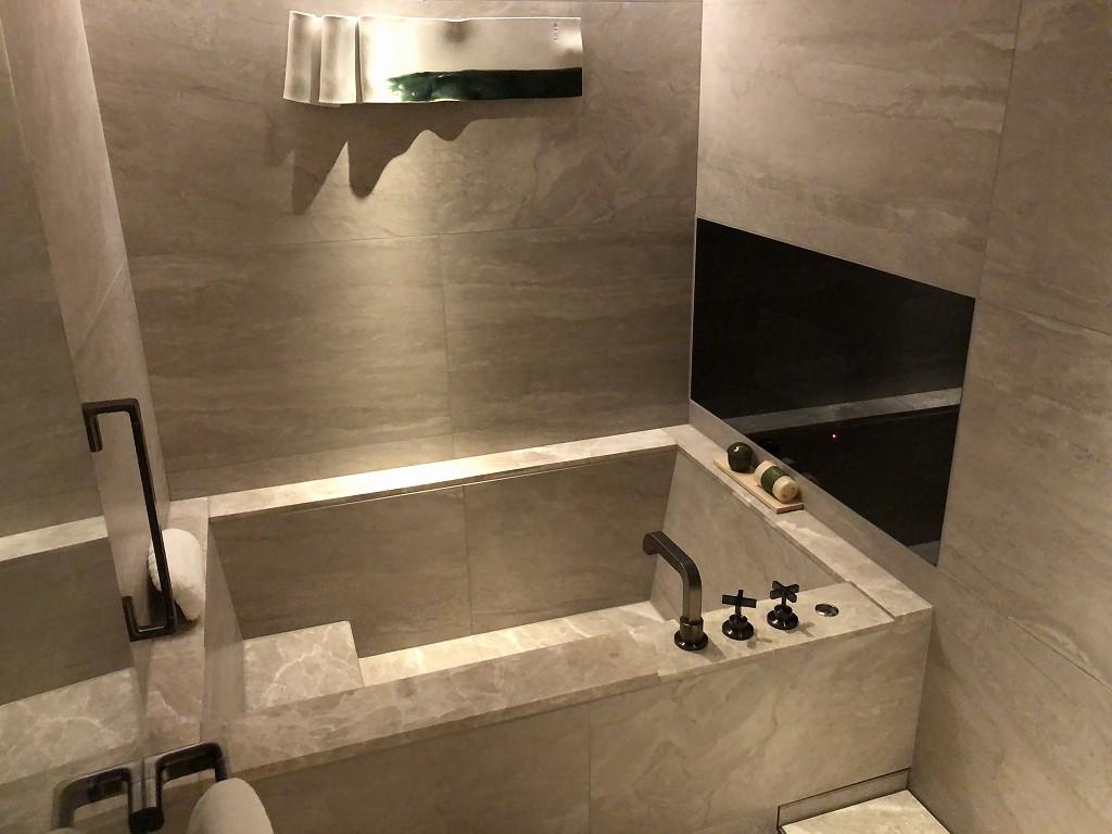 HOTEL THE MITSUI KYOTOのデラックススイートルームのバスルーム2