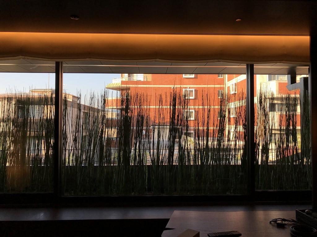HOTEL THE MITSUI KYOTOのデラックススイートルームからの眺め