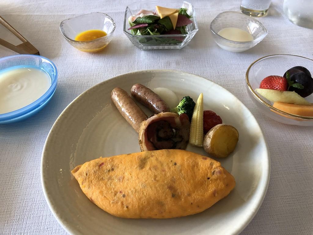 HOTEL THE MITSUI KYOTOのインルームダイニングの朝食(洋食)2