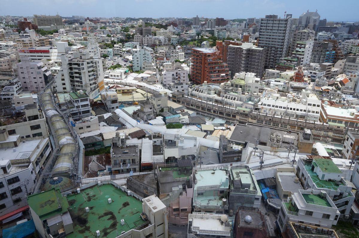 ハイアットリージェンシー那覇沖縄15階からの眺め