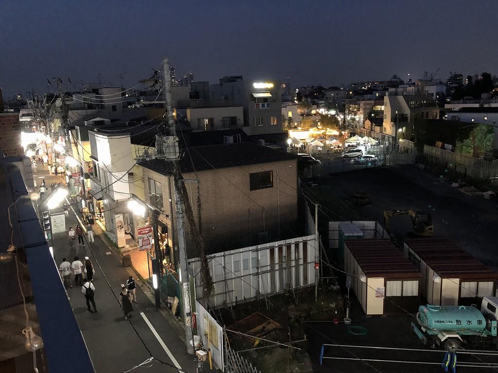 illi Shimokitazawaの301号室から空き地