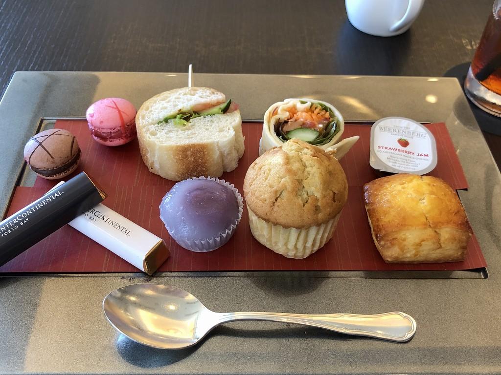 ホテルインターコンチネンタル東京ベイのアフタヌーンティセット