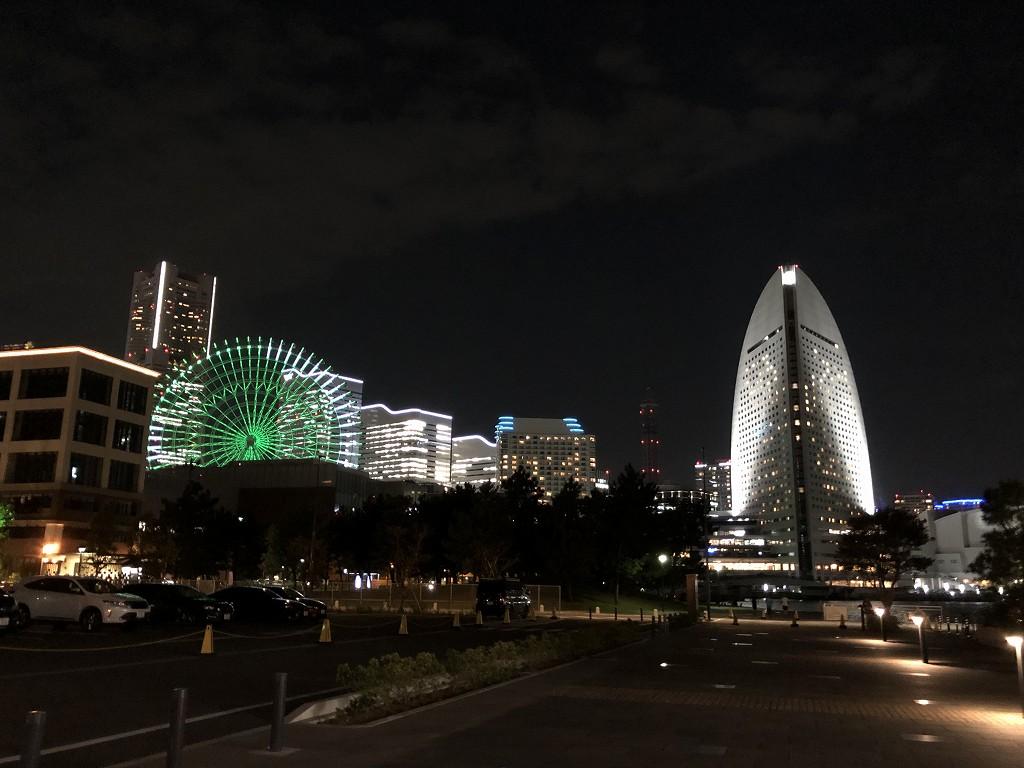 インターコンチネンタル横浜Pier8から夜景