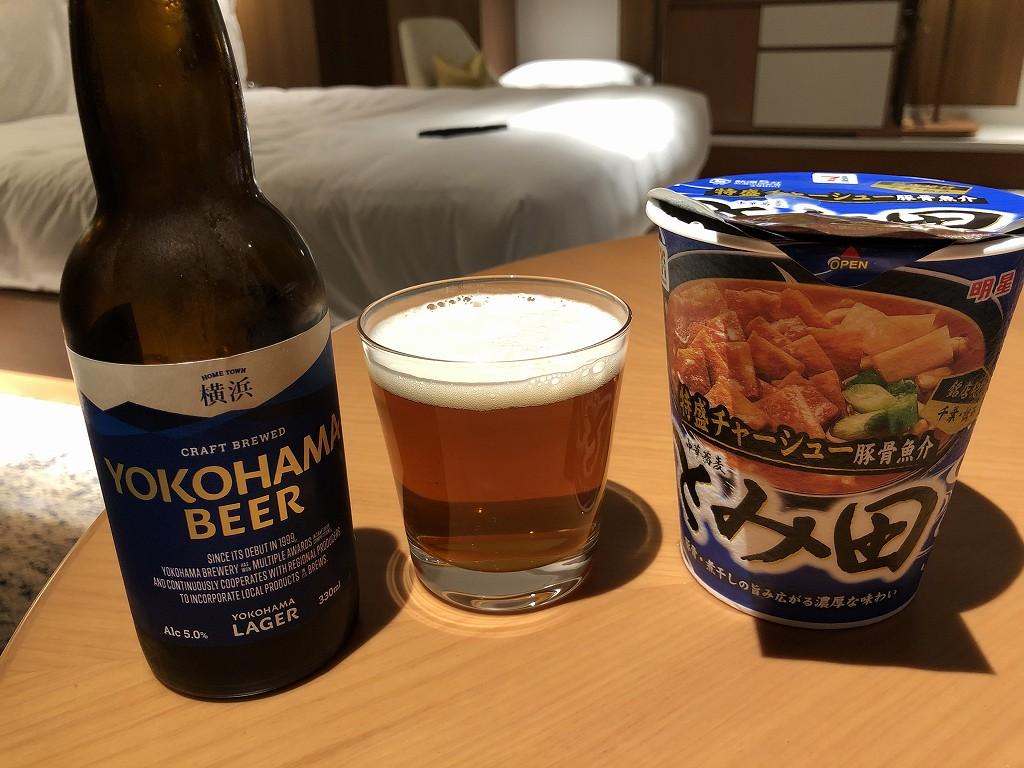 インターコンチネンタル横浜Pier8でカップ麺