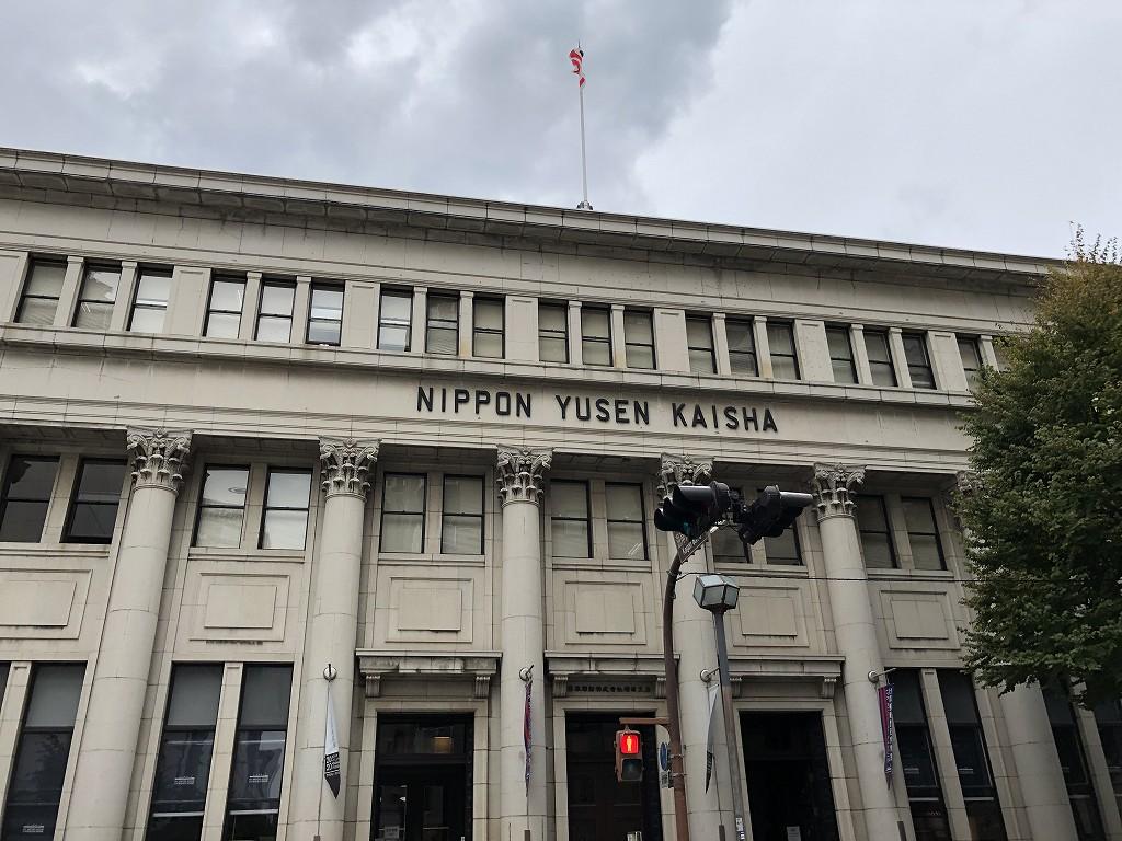 インターコンチネンタル横浜Pier8から日本郵船歴史博物館へ2