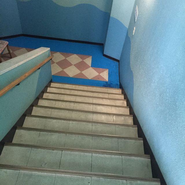 犬吠埼マリンパークの階段