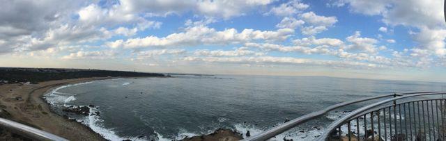 犬吠埼灯台の景色