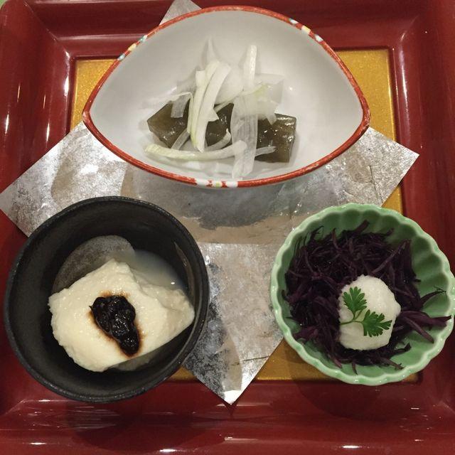 絶景の宿 犬吠埼ホテルの夕食(先付)