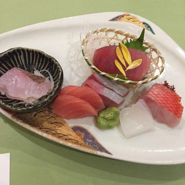 絶景の宿 犬吠埼ホテルの夕食(造里)
