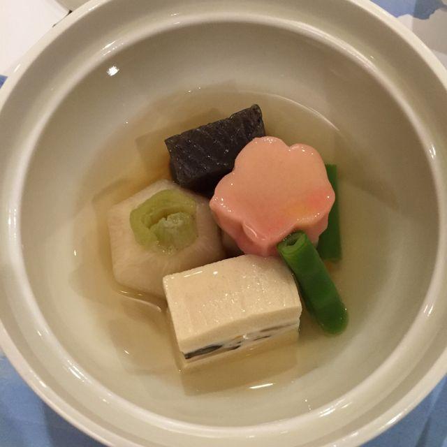 絶景の宿 犬吠埼ホテルの夕食(煮物)