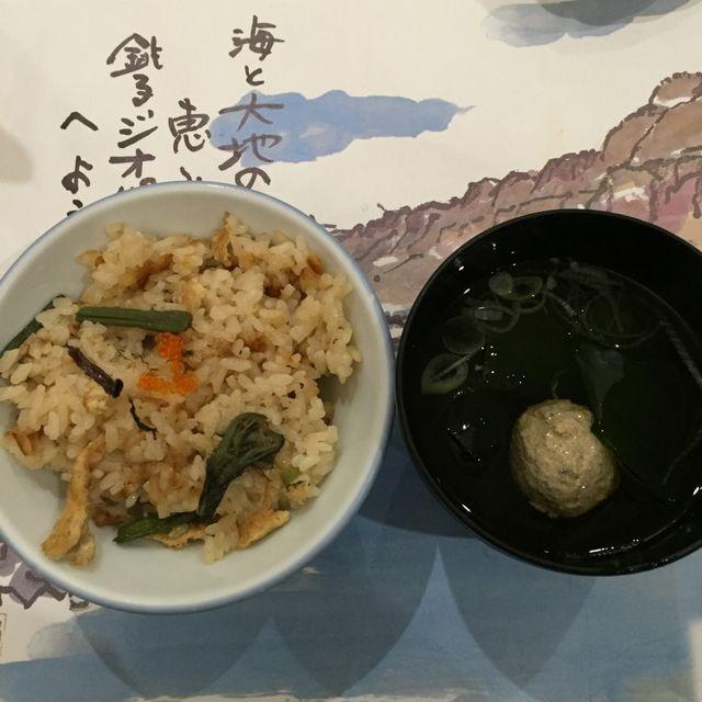 絶景の宿 犬吠埼ホテルの夕食(汁物)