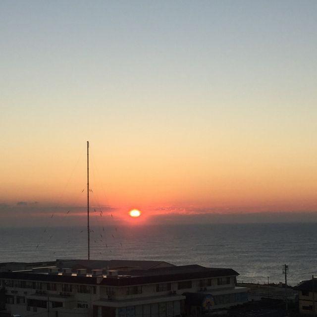 犬吠埼からの朝日1