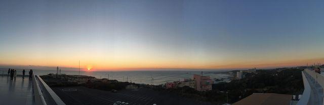 犬吠埼からの朝日2