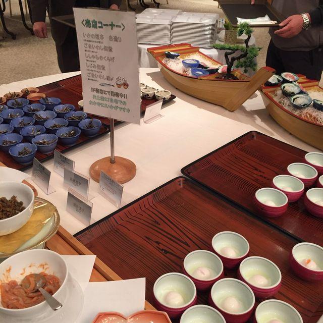 絶景の宿 犬吠埼ホテルの朝食バイキング(売店コーナー)