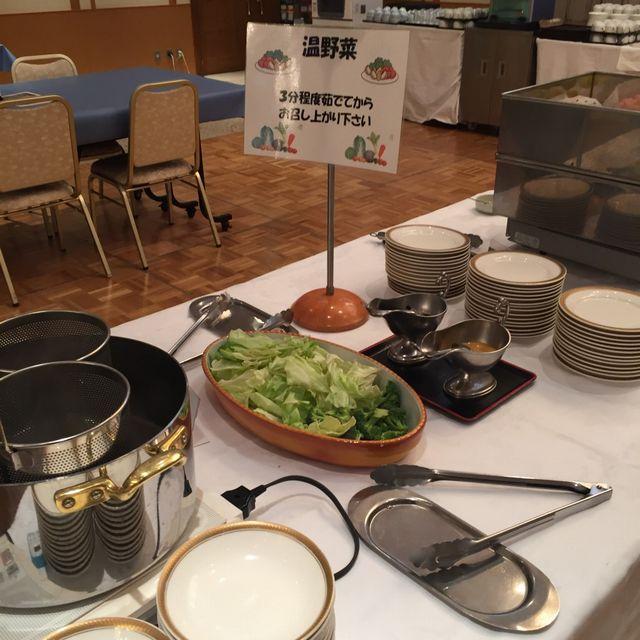 絶景の宿 犬吠埼ホテルの朝食バイキング(温野菜)