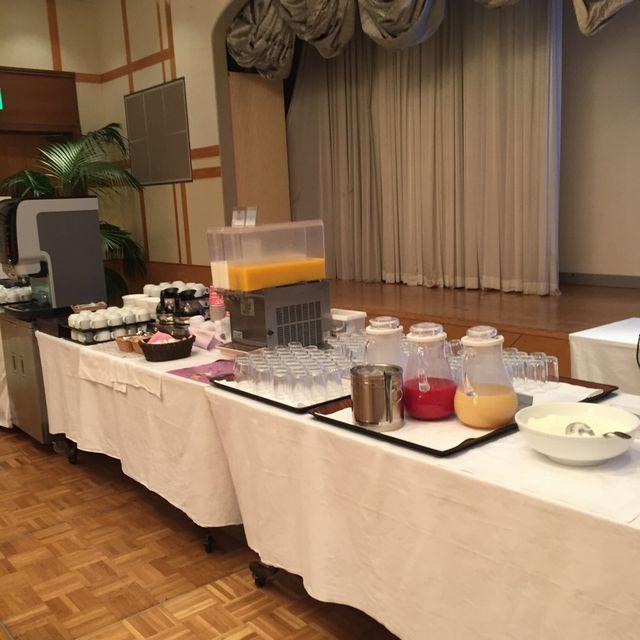 絶景の宿 犬吠埼ホテルの朝食バイキング(ジュース)