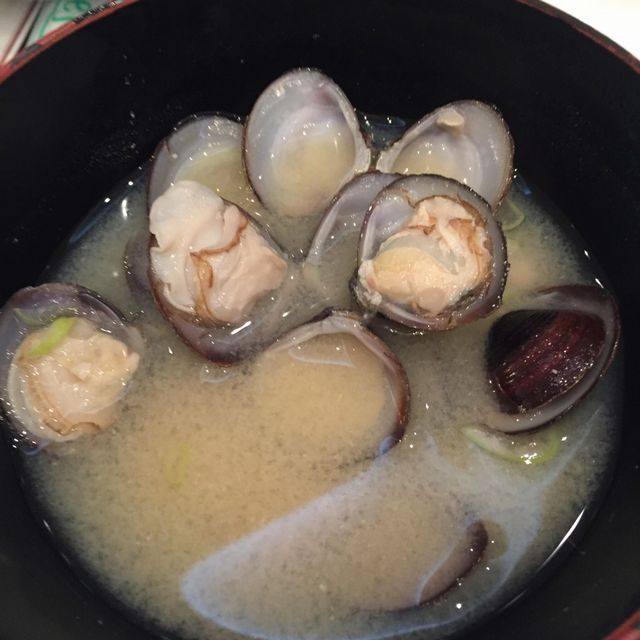 絶景の宿 犬吠埼ホテルの朝食バイキング(しじみの味噌汁)