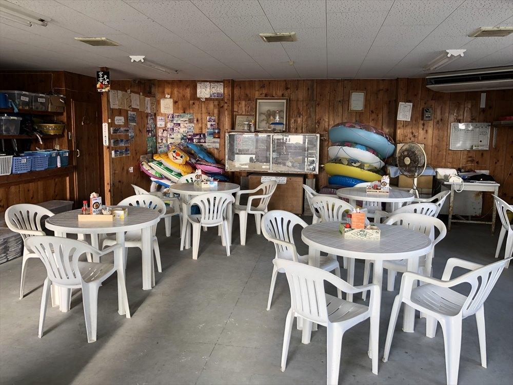 宮古島の渡口の浜の売店2
