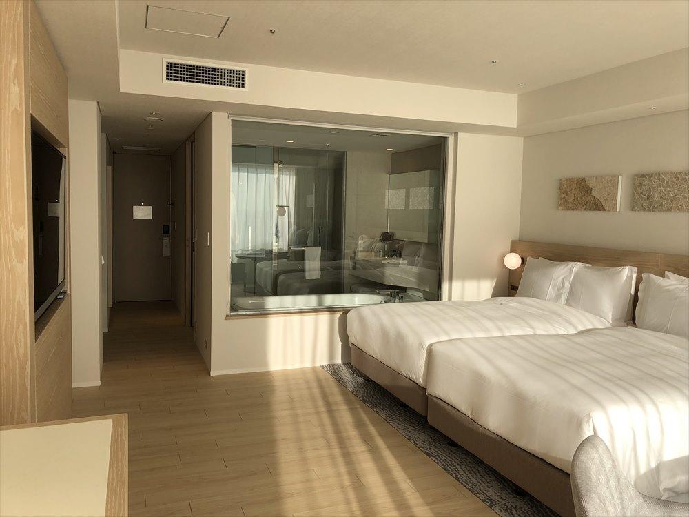 イラフSUIラグジュアリーコレクションホテル沖縄宮古のアッパーオーシャンビュールーム4