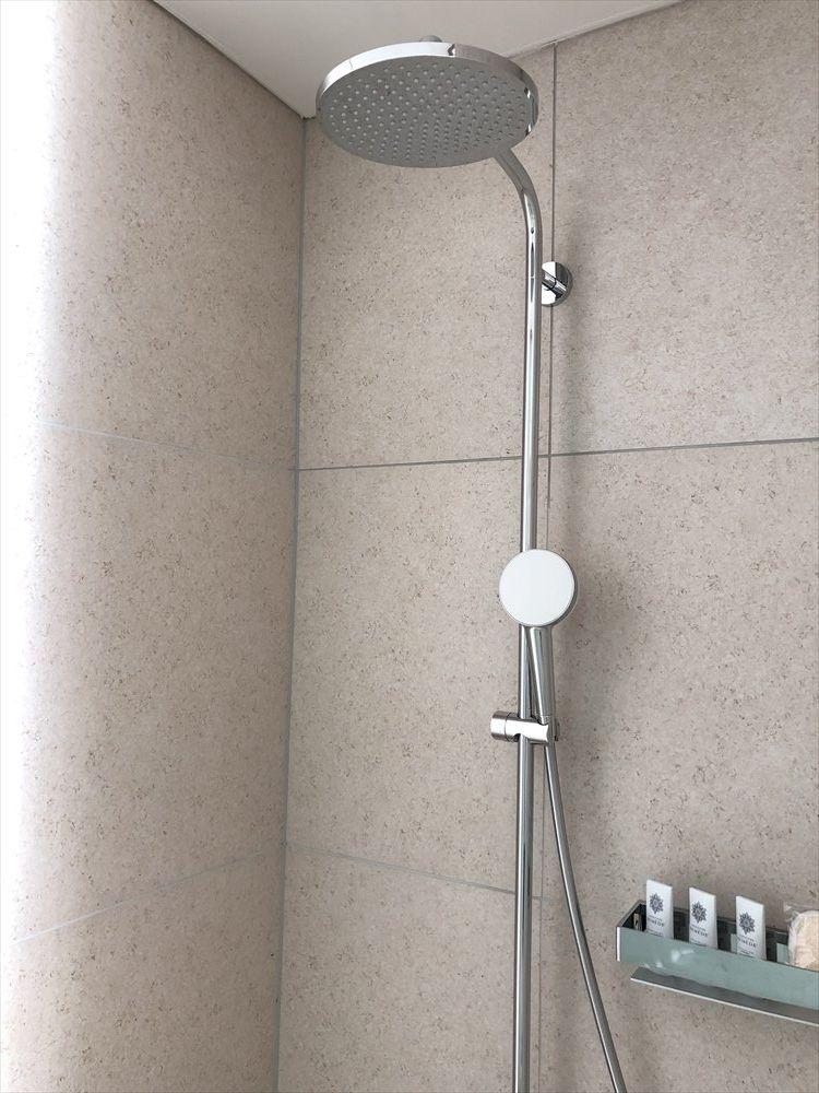 イラフSUIラグジュアリーコレクションホテル沖縄宮古のアッパーオーシャンビュールームのシャワールーム