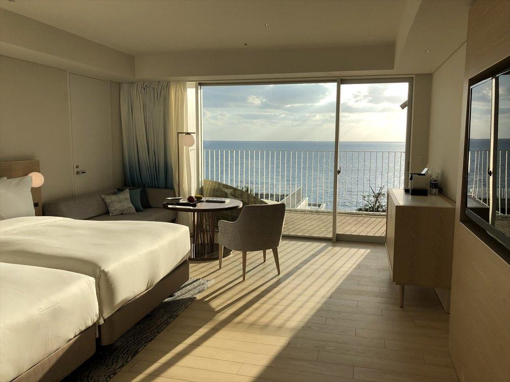 イラフSUIラグジュアリーコレクションホテル沖縄宮古のアッパーオーシャンビュールーム1