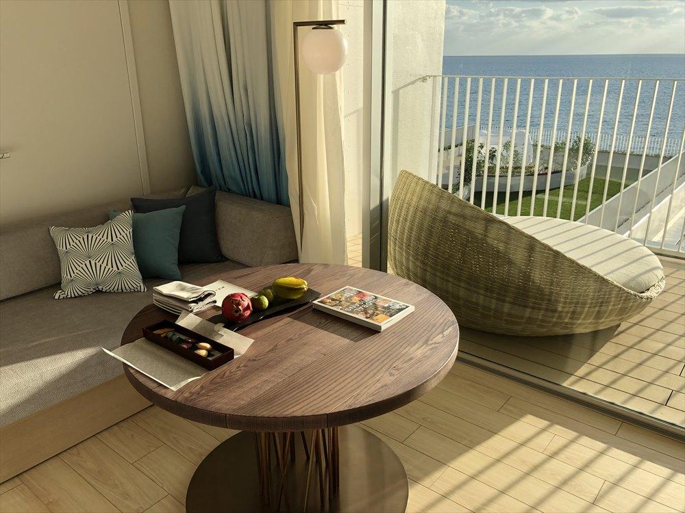 イラフSUIラグジュアリーコレクションホテル沖縄宮古のアッパーオーシャンビュールーム2