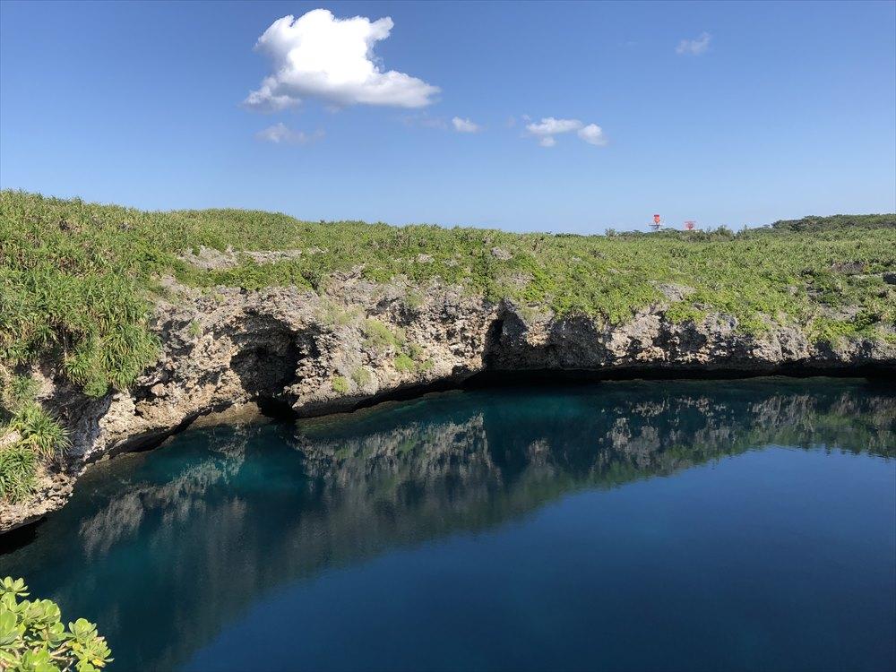 下地島の通り池3