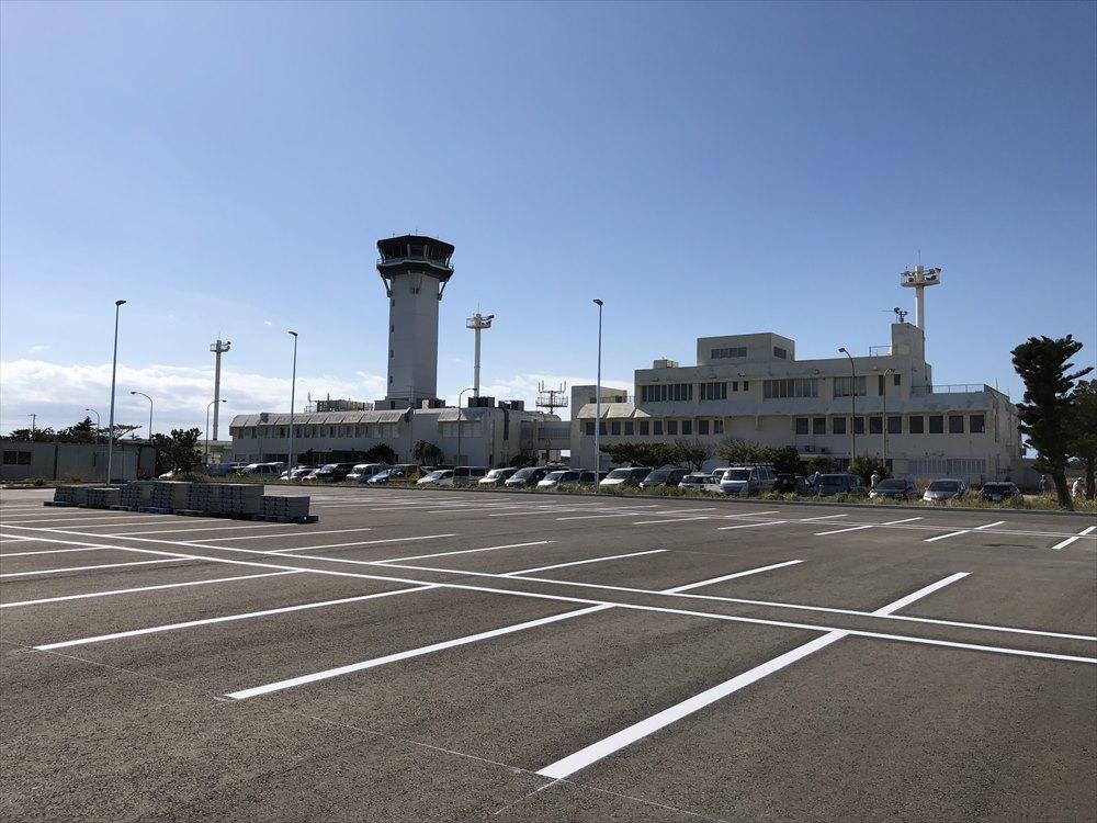 工事中の下地島空港1