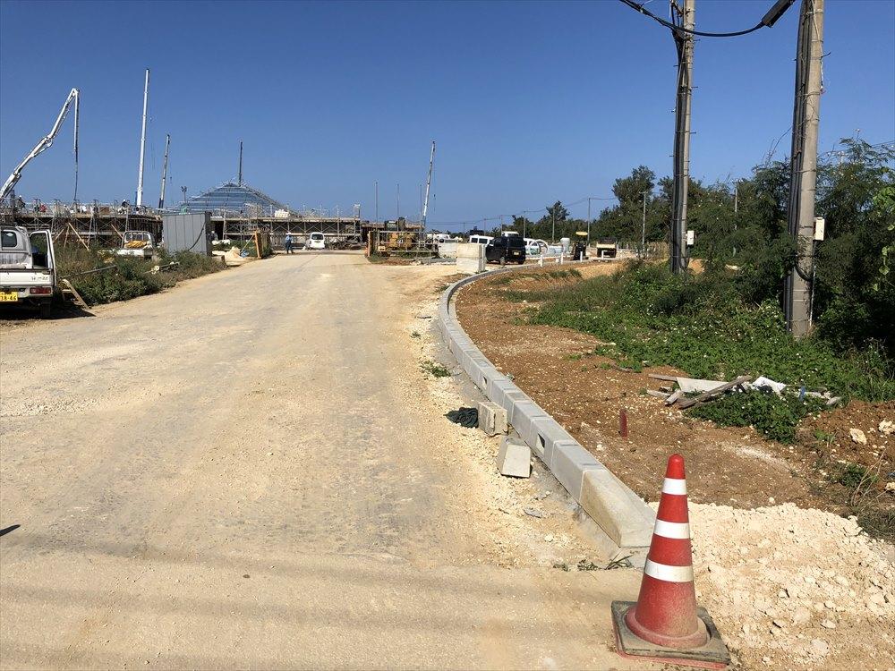 工事中の下地島空港2